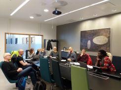 WNRI team - had a good representation of male and female researchers.